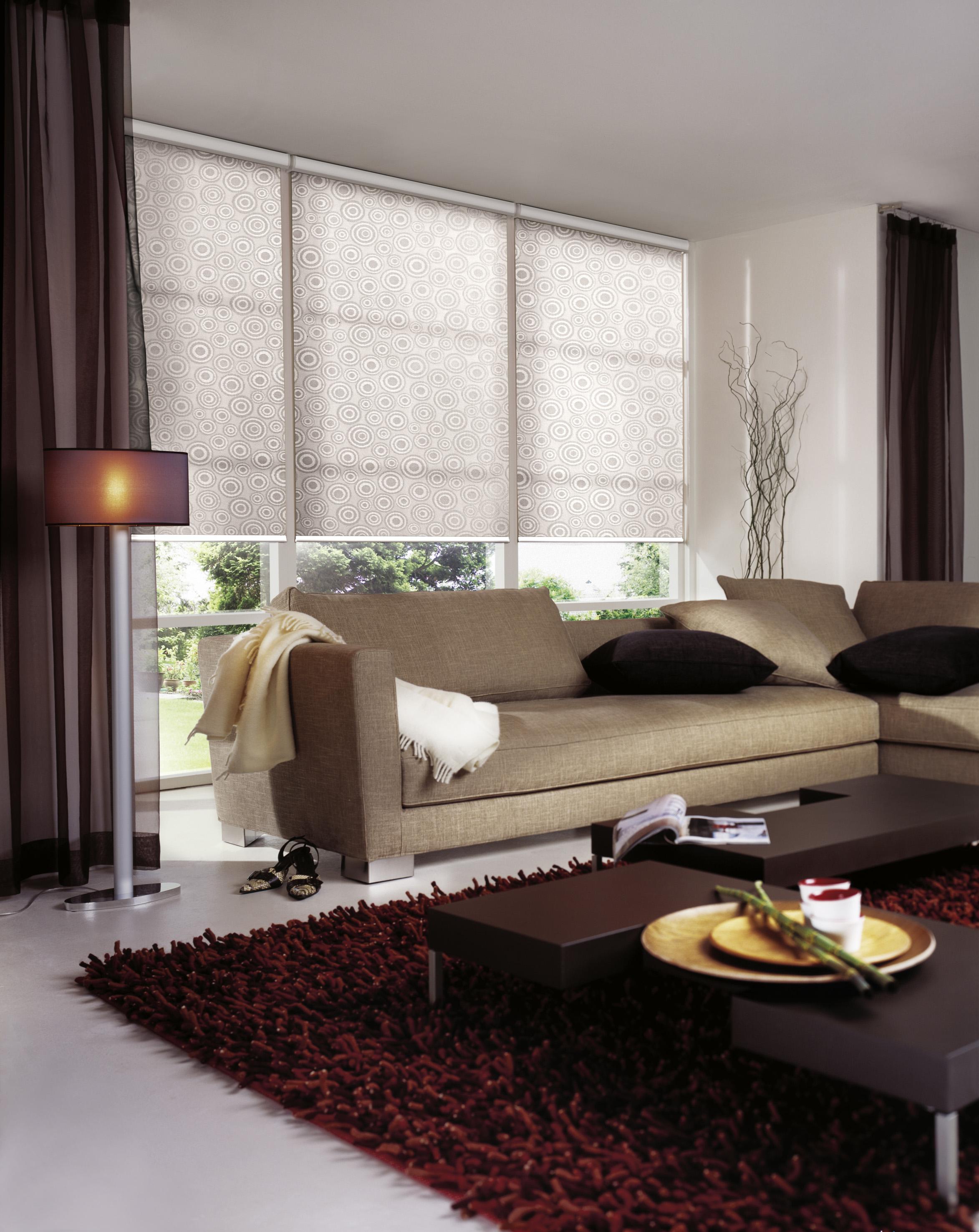 rollos stoffdepot. Black Bedroom Furniture Sets. Home Design Ideas
